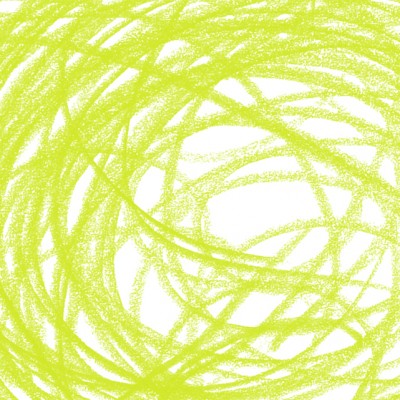 Zesty Lime Scribble Background
